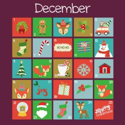 image of december calendar page