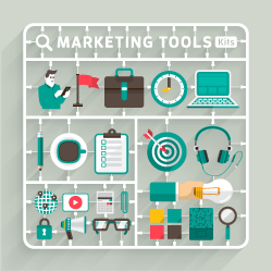 image of marketing tools