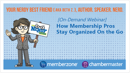 video of how membership pros stay organized on the go