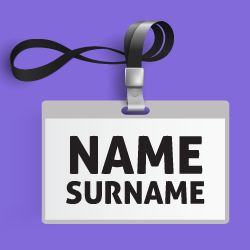 image of name badge