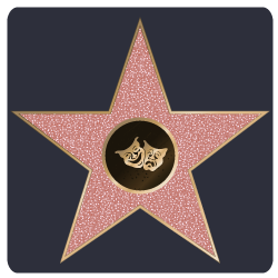image of hollywood star