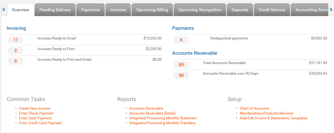 image of Association Integrated Billing