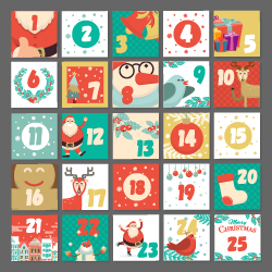 Image of December Christmas calendar