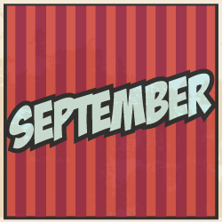 image of word September