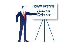 image of chamber board meeting